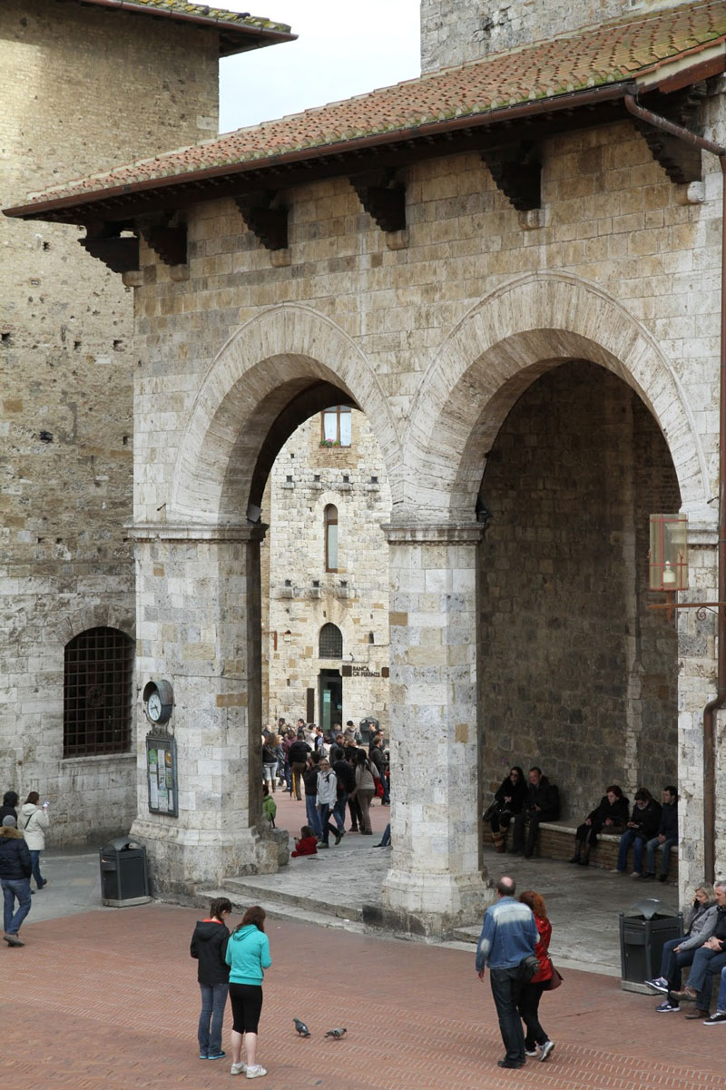 IMG_7426 San Gimignano, Tuscany - Where an architect has much to learn