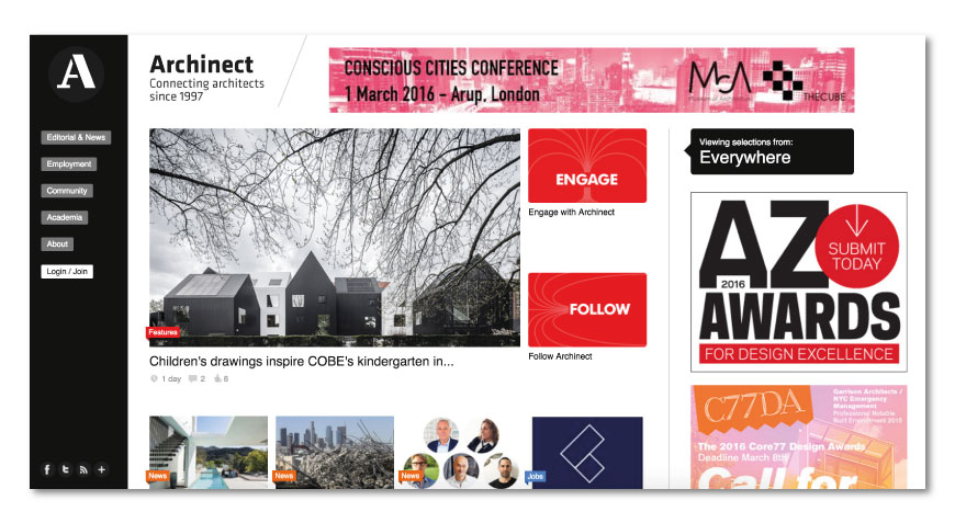 Archinect Best Architecture Websites - The best list to keep informed
