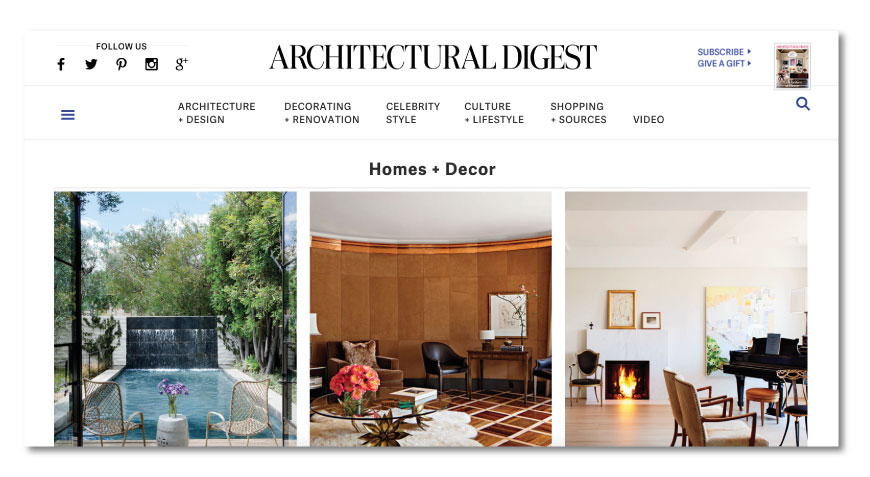 Architectural digest Best Architecture Websites - The best list to keep informed