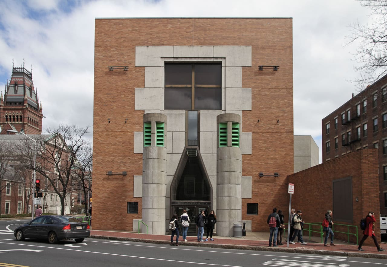 Museum-Stirling-Wilford Arthur Sackler Museum in Boston | James Stirling