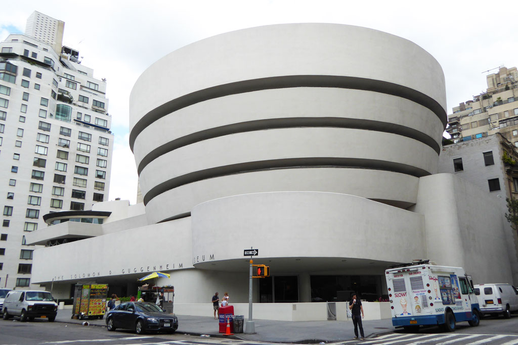 Guggenheim-Museum-New-York-FLW The Guggenheim Museum in New York | Frank Lloyd Wright