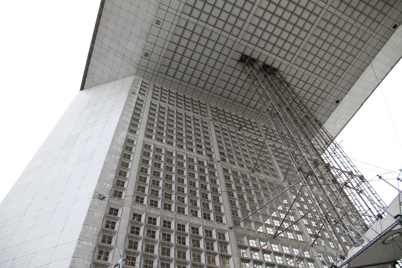 IMG_0823 Grande Arche in Paris - The biggest and less loved Celebrative Monument