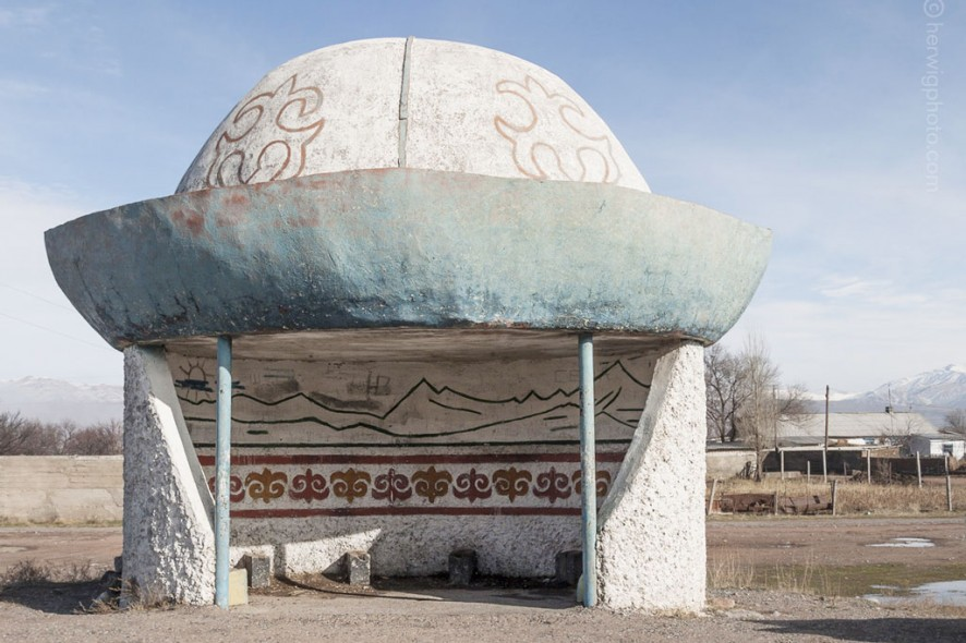Soviet-bus-stop-architectural-photography
