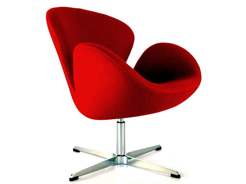 sedia-swan-arne-jacobsen-rosso_20140422092837 A selection of the most famous and influential chairs of '900