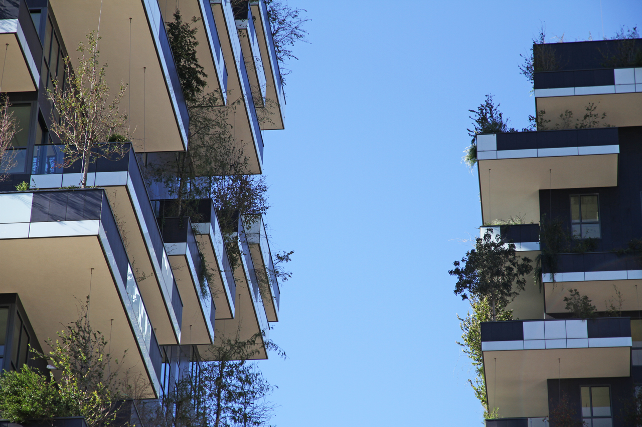 Bosco verticale Milano Vertical Forest in Milan - Boeri Studio