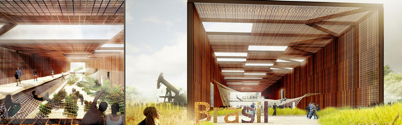 Brasile pavillion Discover all the pavillions EXPO 2015