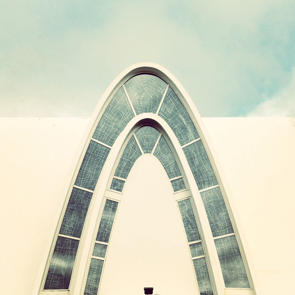 Kópavogskirkja Architectural Photography | Sebastian Weiss