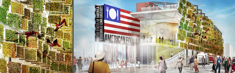 United-States-of-America pavillion Discover all the pavillions EXPO 2015