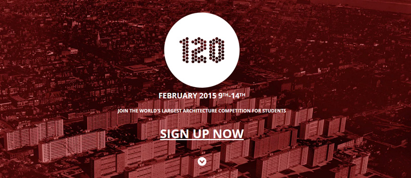 """120hours """"Experimental Preservation"""" - 120 HOURS Student Competition - Next February 9th"""