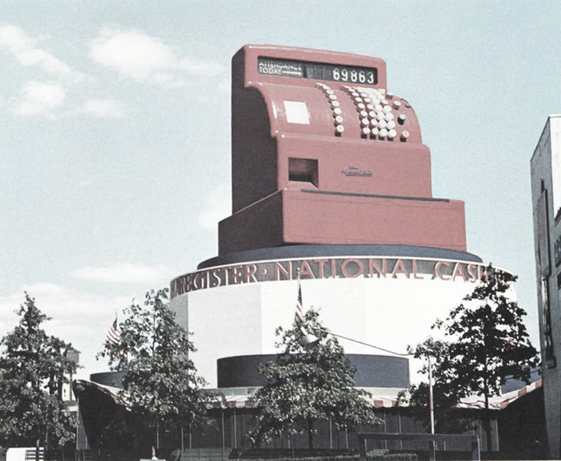 NewYork Worldsfair -1939 - National Cash Register Pavilion