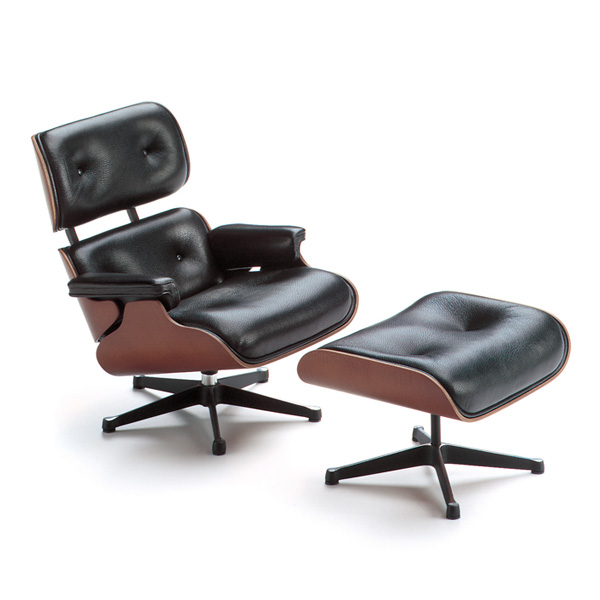 Attractive chairs by vitra miniatures collection for Eames chair vitra replica