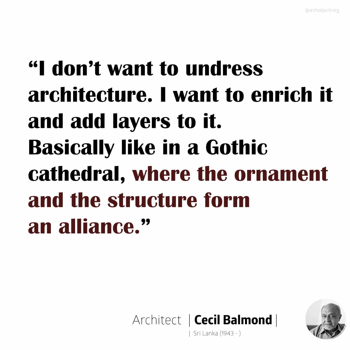 cecil balmond quote Architectural Quotes - Worth spreading Architects' voice