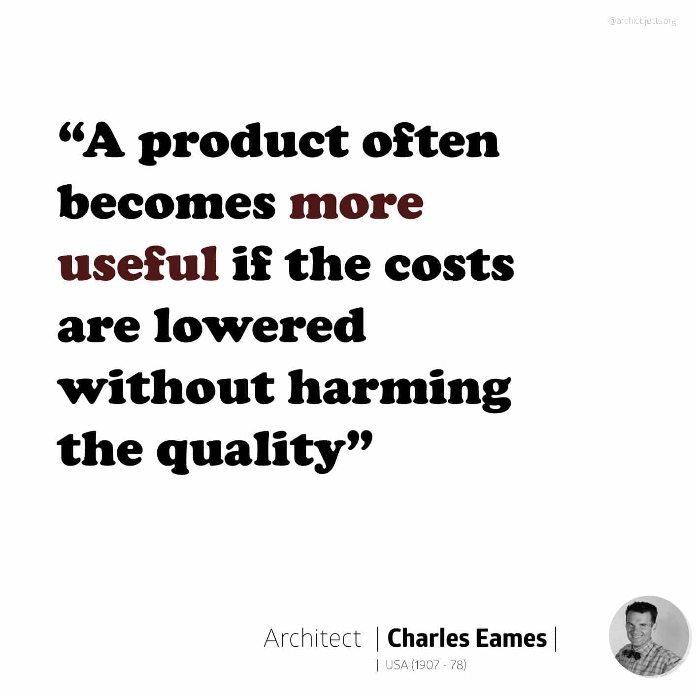charles eames quote Architectural Quotes - Worth spreading Architects' voice