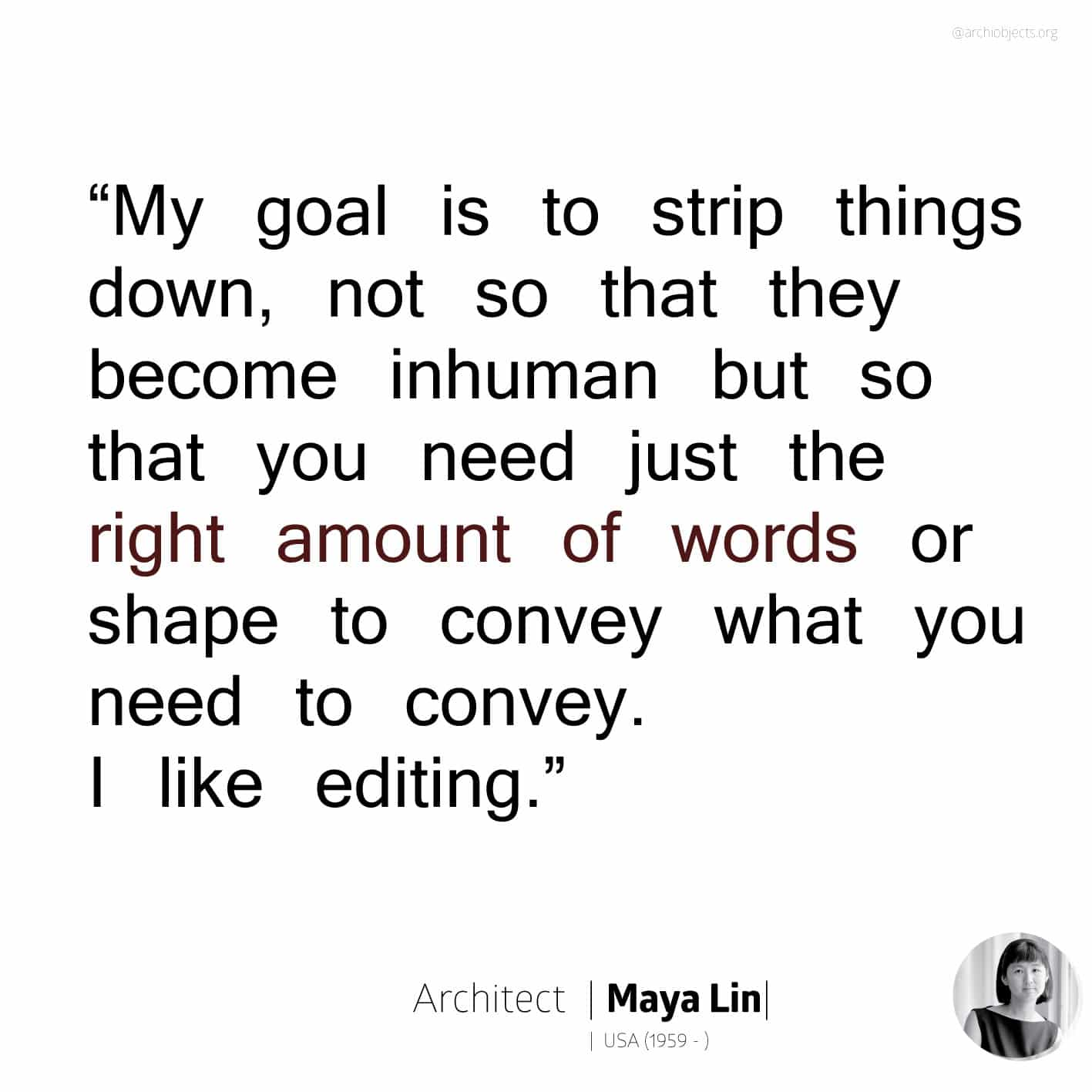 maya lin Architectural Quotes - Worth spreading Architects' voice