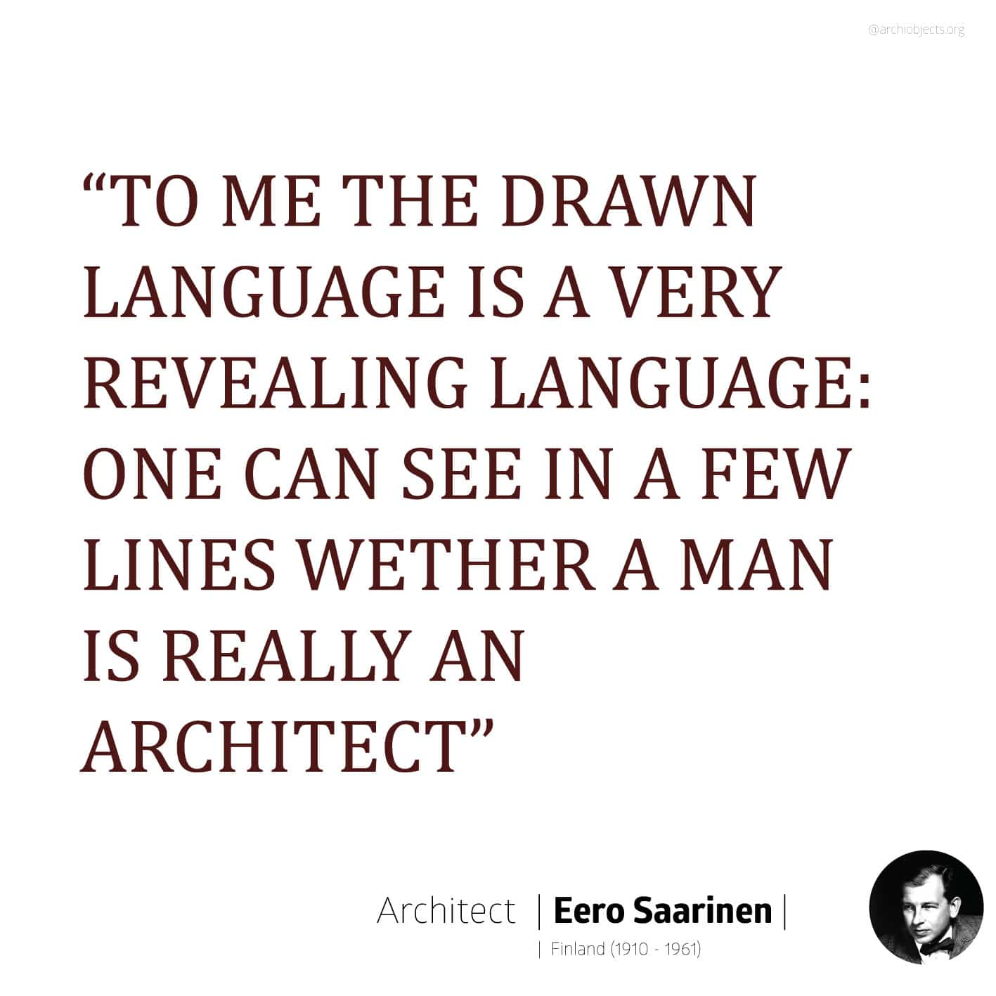 saarineen quote Architectural Quotes - Worth spreading Architects' voice