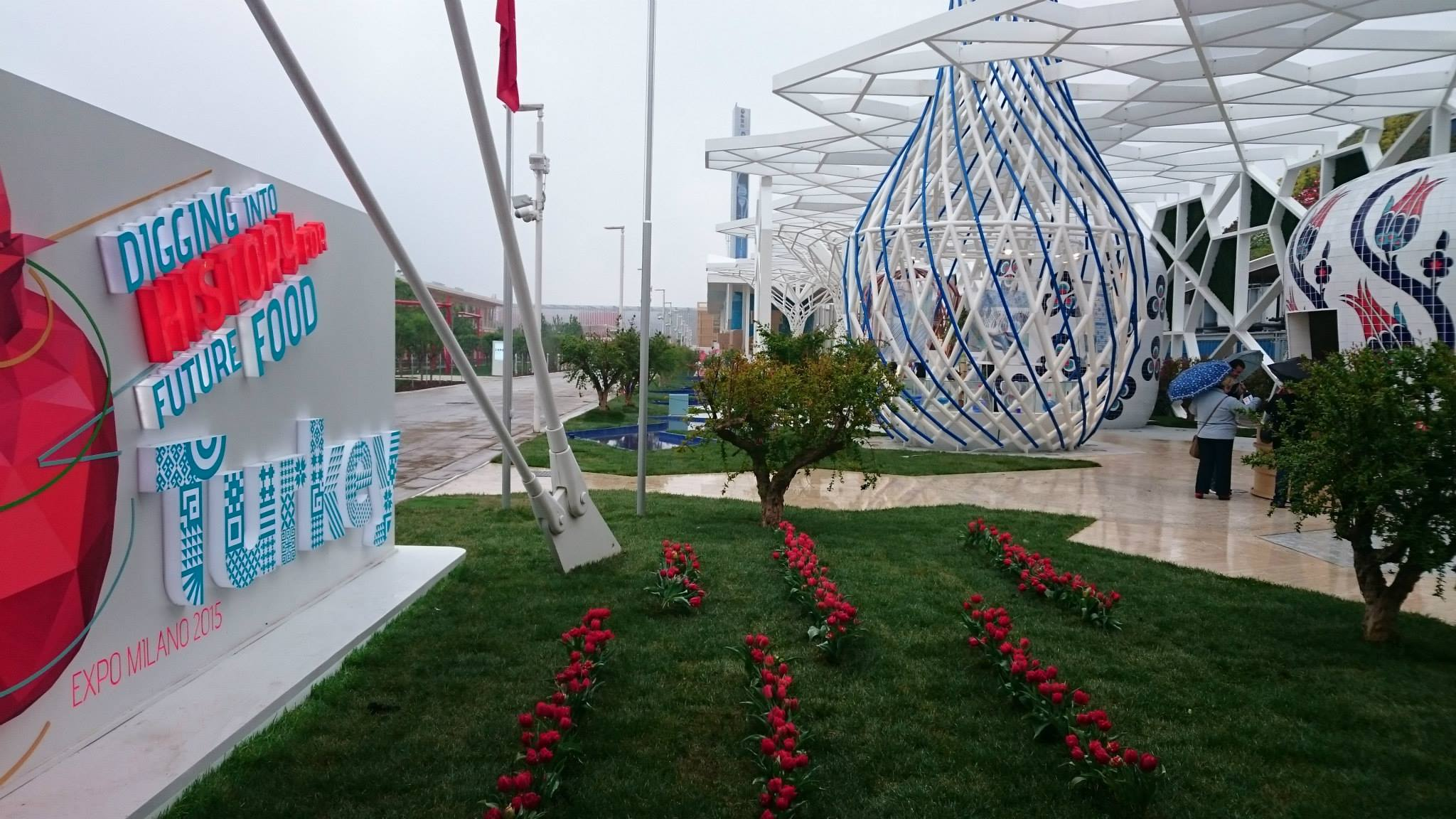 Turkey Pavilion Inauguration days at EXPO 2015 | Our impression (Top)