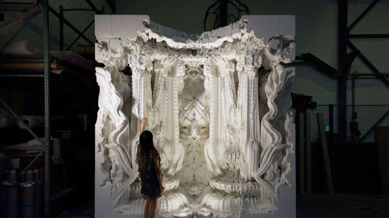 3D PRINTED ROOM 3D Printing Architecture: 17 facts on the potential of this combination