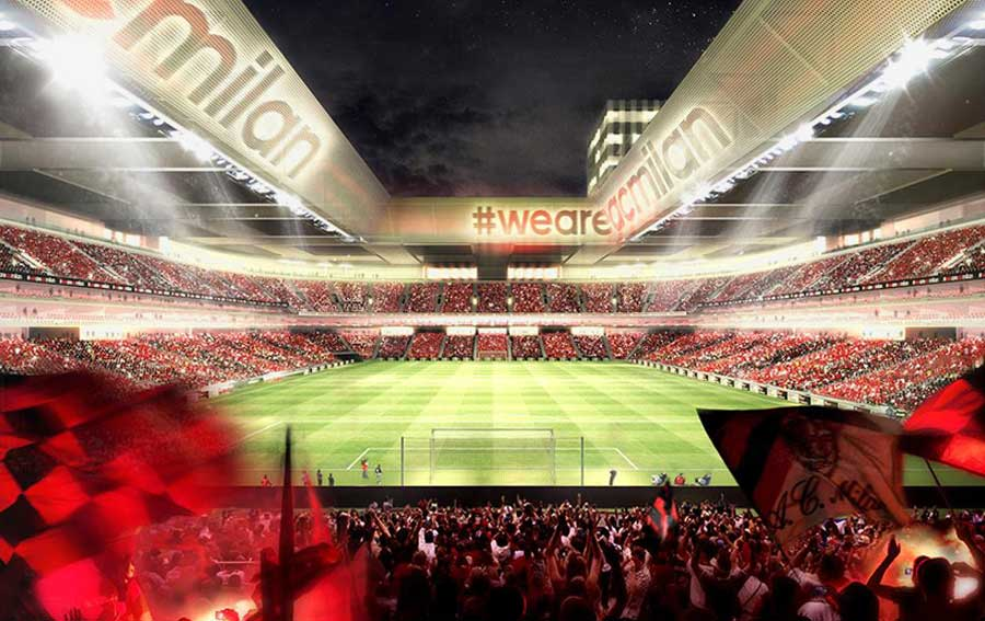 AC-milan-new-stadium-portello-arup-a The new Ac Milan Stadium will be located in the city's Portello area