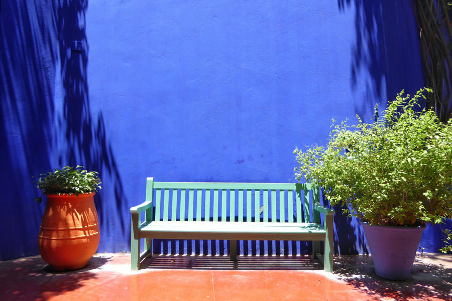 Jardin Majorelle Marrakech Visiting Marrakech by an architectural point of view