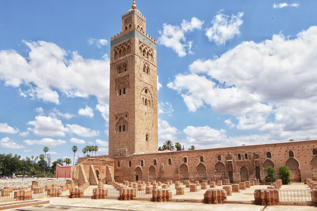 Koutoubia Marrakech Visiting Marrakech by an architectural point of view