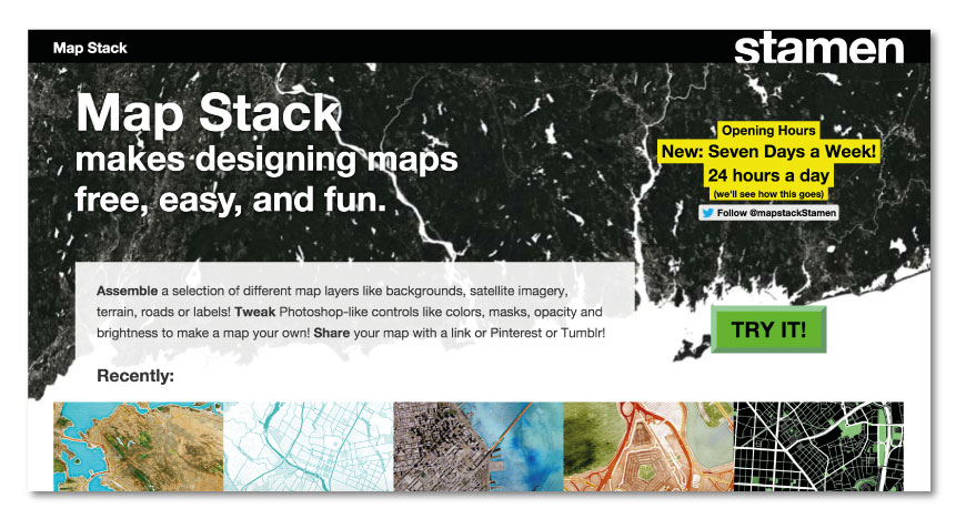 Mapstack 30+ Online digital tools for Architects and Designers