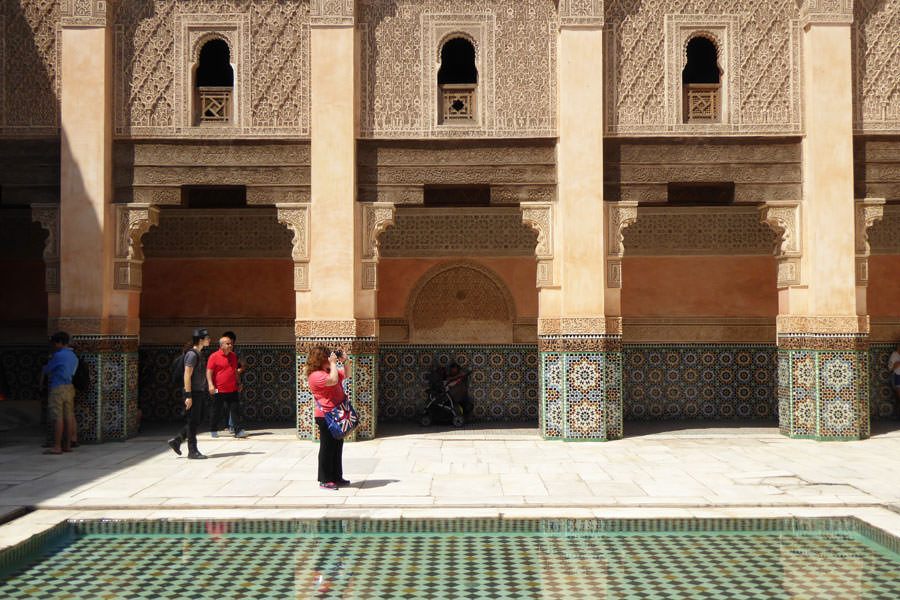 Medersa Ali Ben Youssef Visiting Marrakech by an architectural point of view