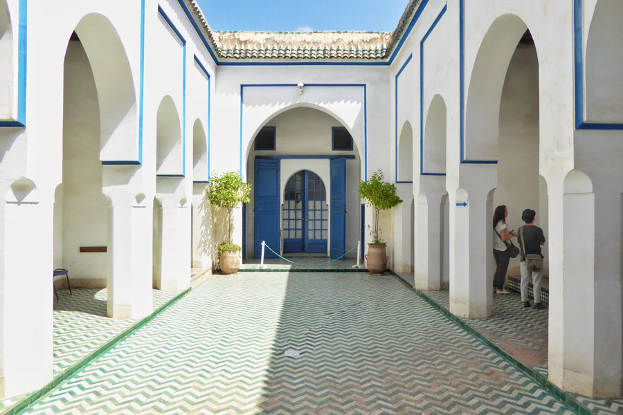 Palais de la Bahia Visiting Marrakech by an architectural point of view