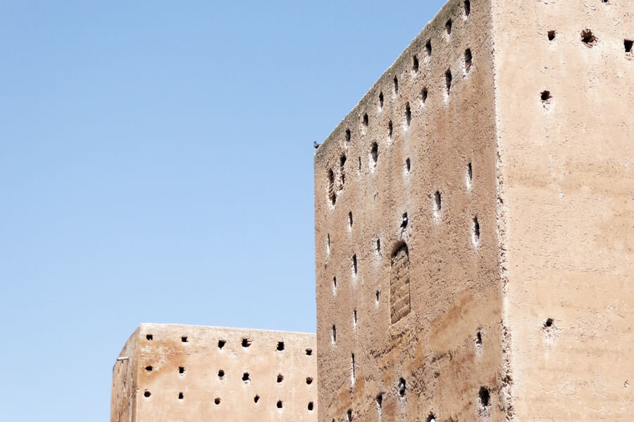 Saaditi tombs Visiting Marrakech by an architectural point of view