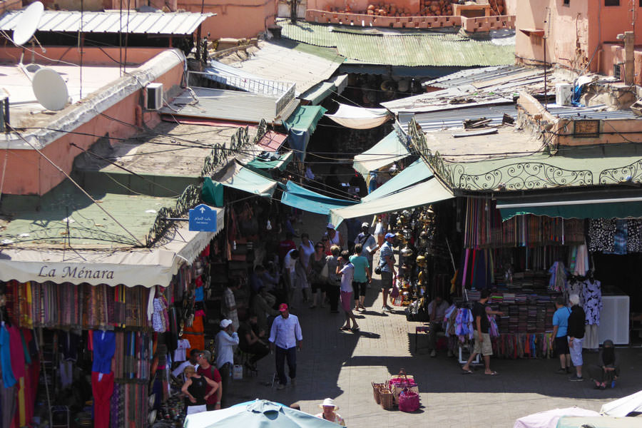 Souq Marrakech Visiting Marrakech by an architectural point of view