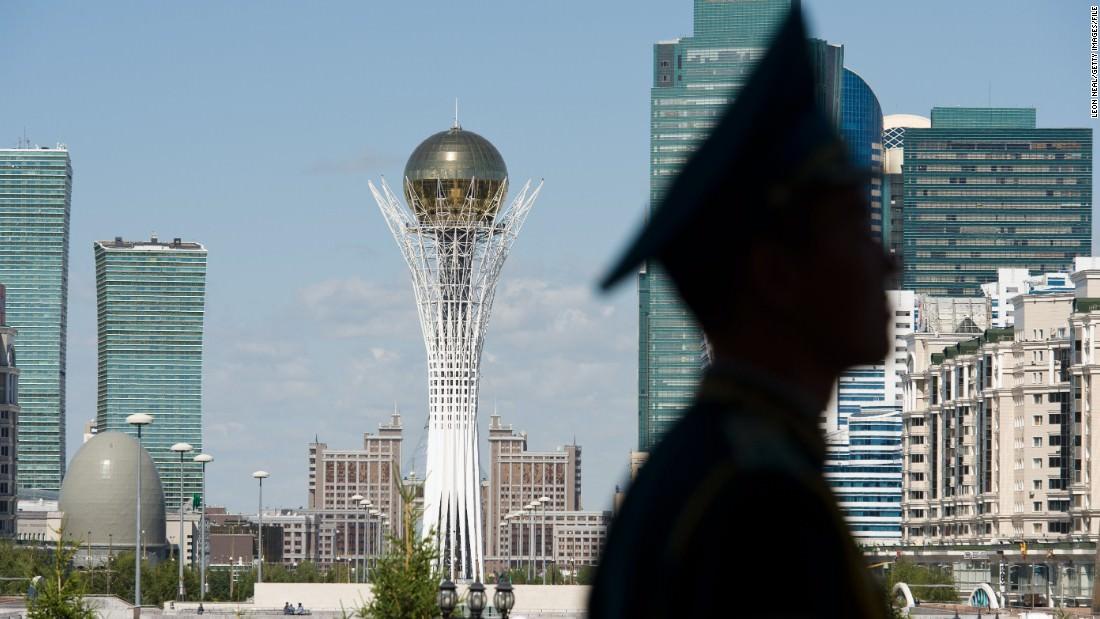 Astana kazakhstan-architecture