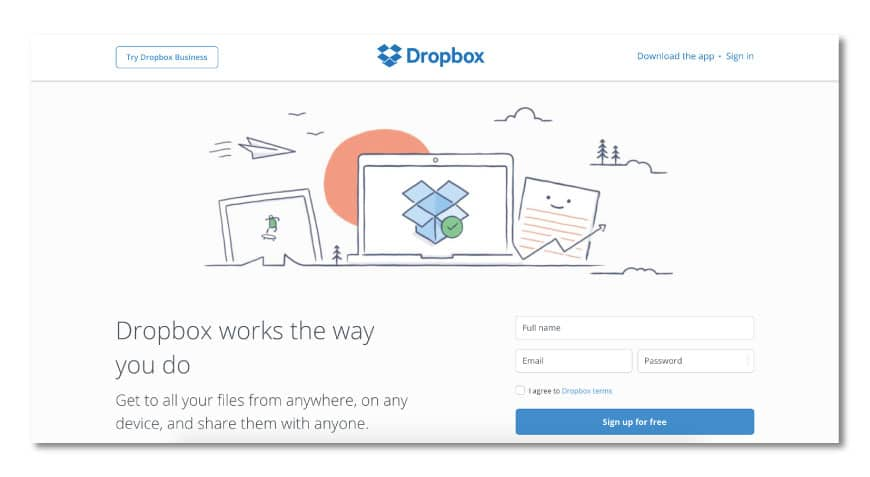 dropbox 30+ Online digital tools for Architects and Designers
