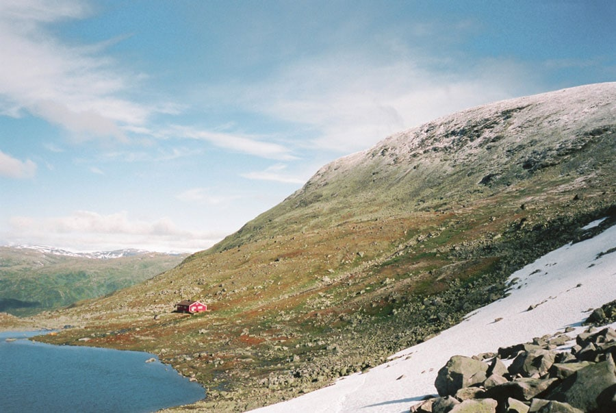Cabin-in-Jotunheimen,-Norway