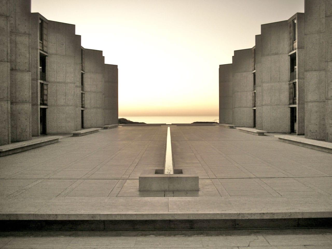 Salk_Institute Louis Kahn Salk Institute | 1959-1965