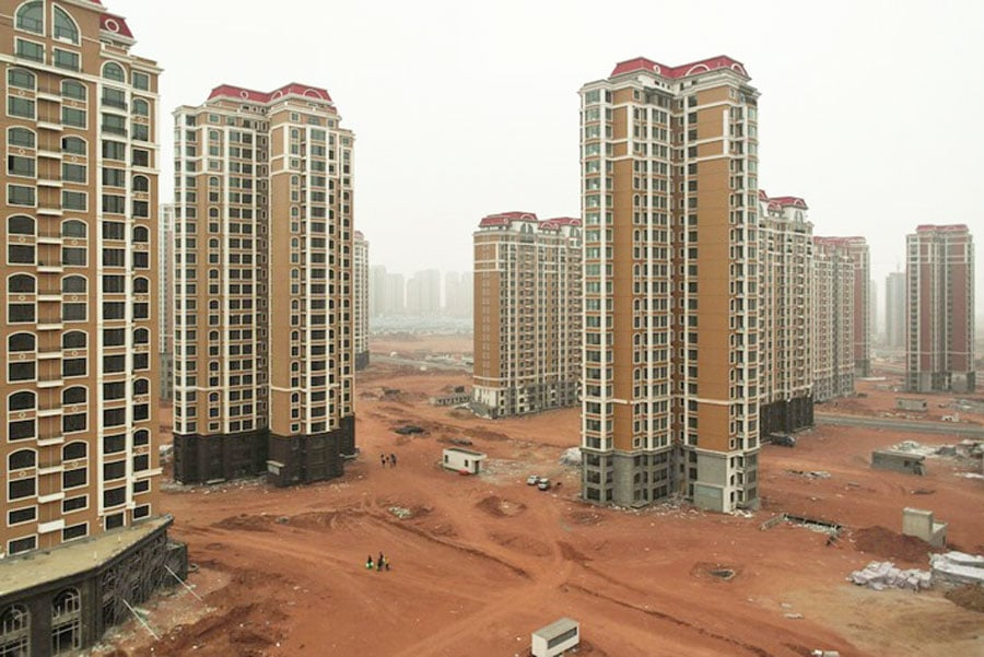 Chinese Ghost Cities  Chinese Ghost Cities - Their genesys and the current situation