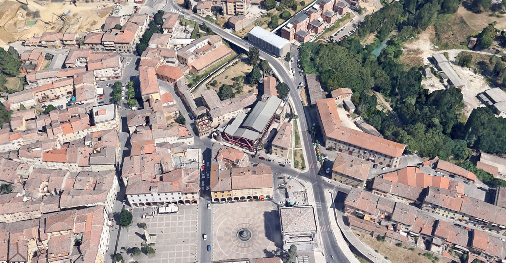 banca a colle val d'elsa michelucci Google Earth Architecture | Buildings aerial views in hd