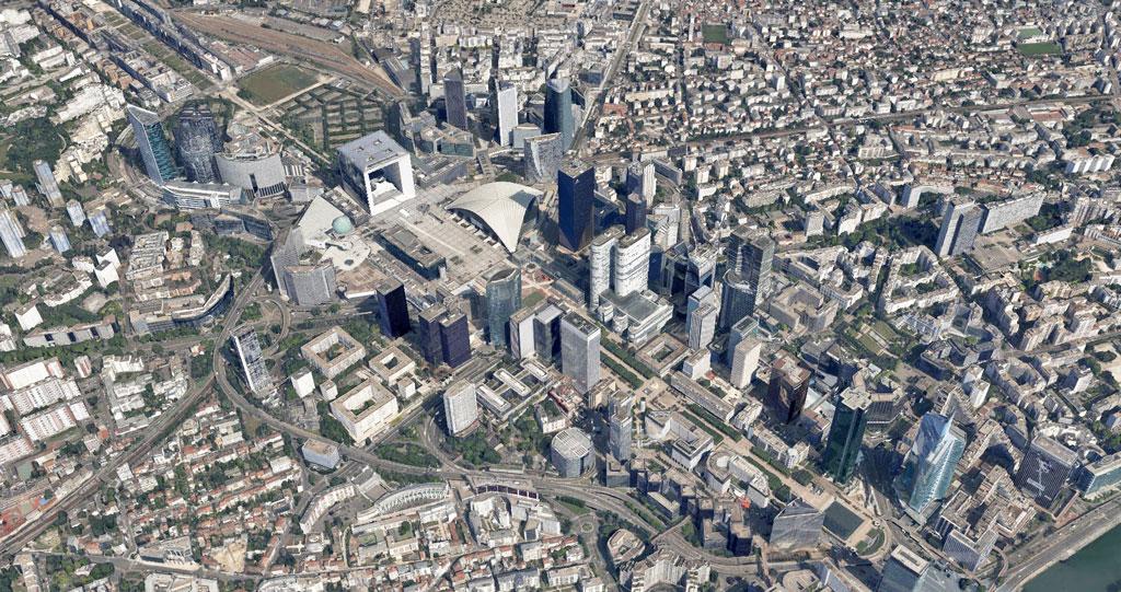 grand arche la defense Google Earth Architecture | Buildings aerial views in hd