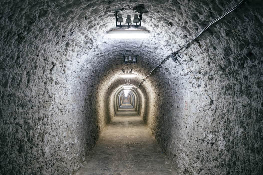 theme park  Transylvania's subterranean theme park
