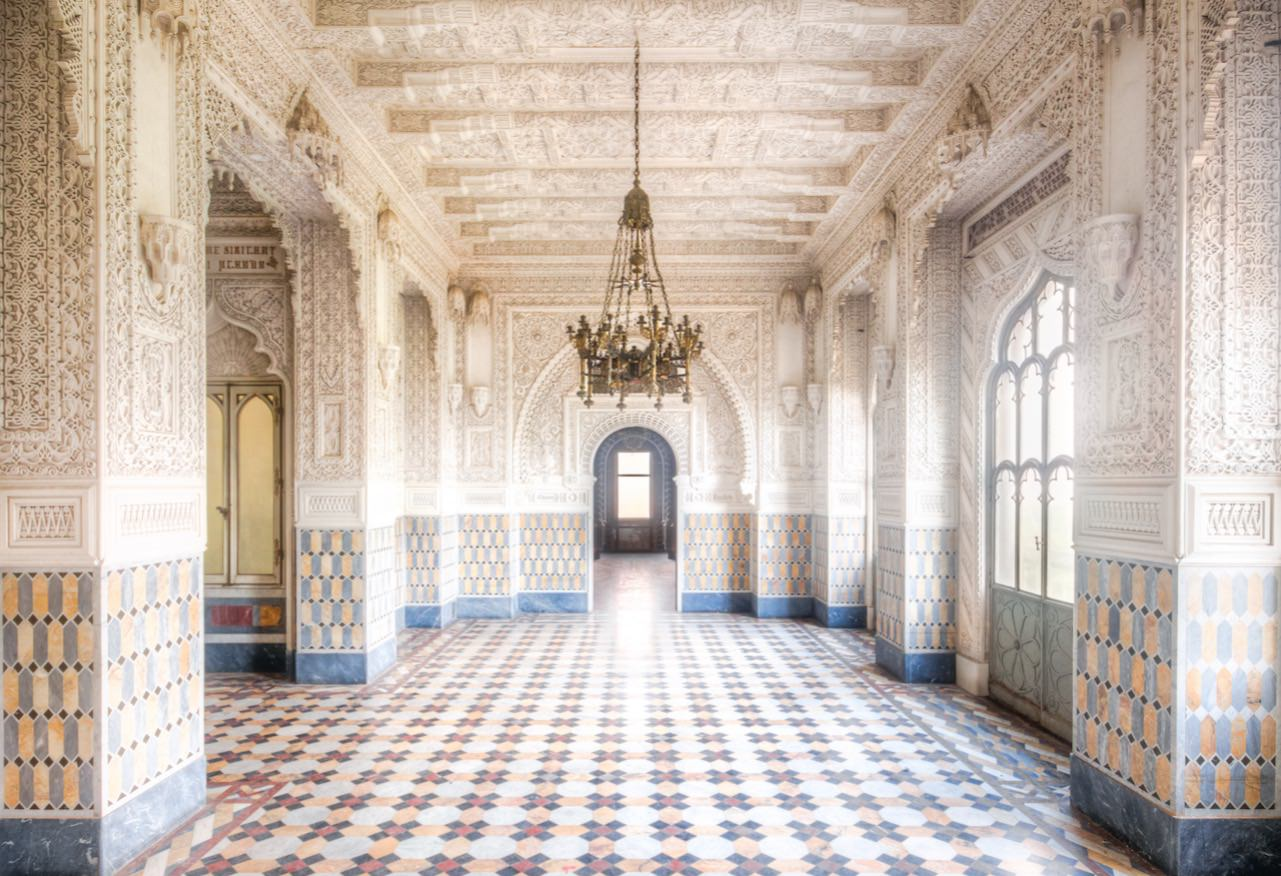 Roman Robroek Sammezzano Castle, an incredible abandoned place in Italy