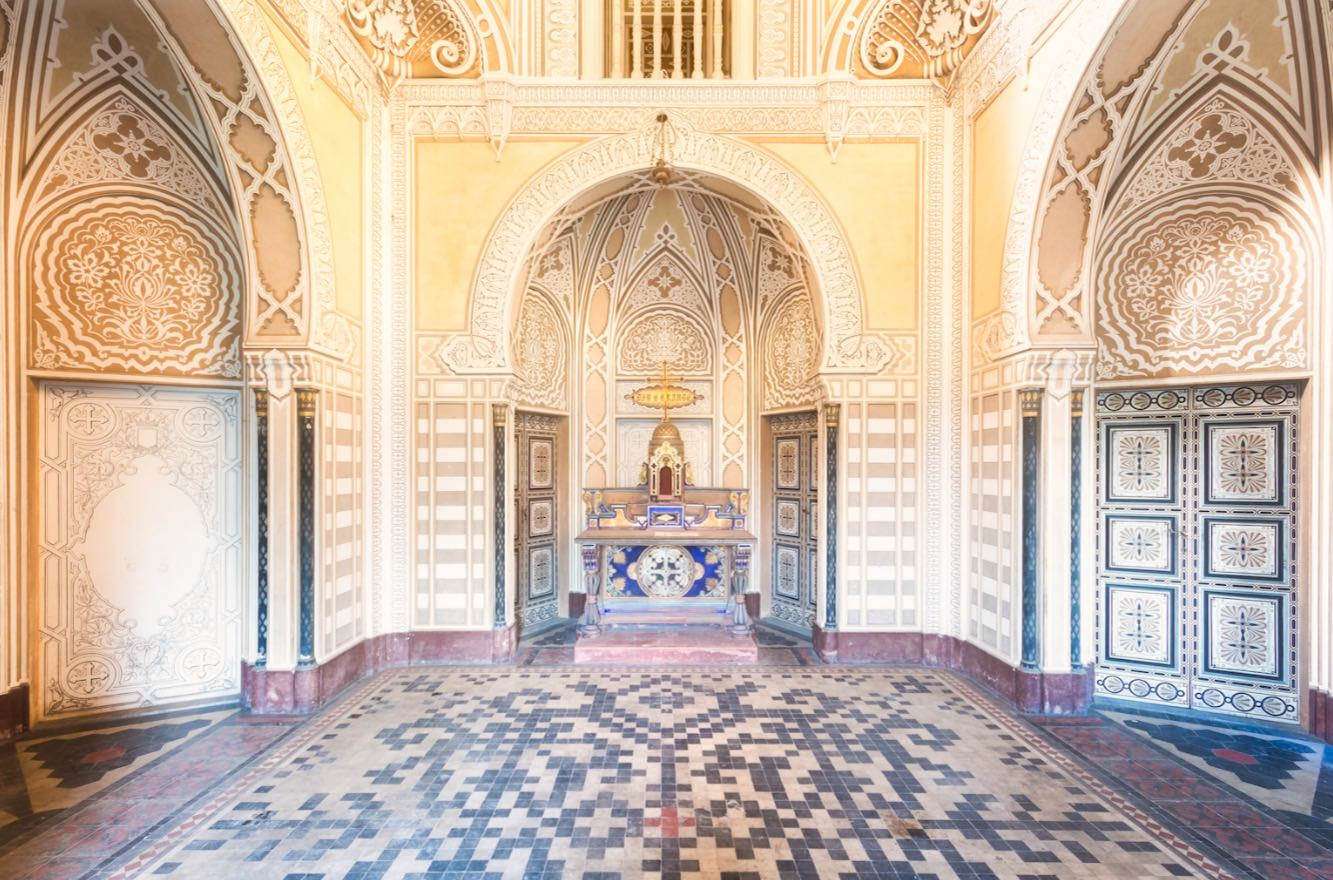 Roman-Robroek-sammezzano2 Sammezzano Castle, an incredible abandoned place in Italy