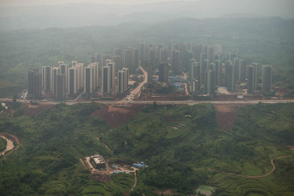 "chongqing Chongqing, the chinese ""Urban Jungle"" photographed by Raphael Olivier"