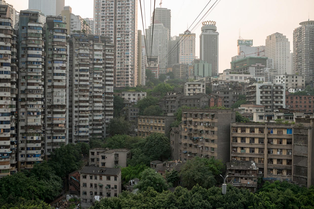"chongqing12 Chongqing, the chinese ""Urban Jungle"" photographed by Raphael Olivier"
