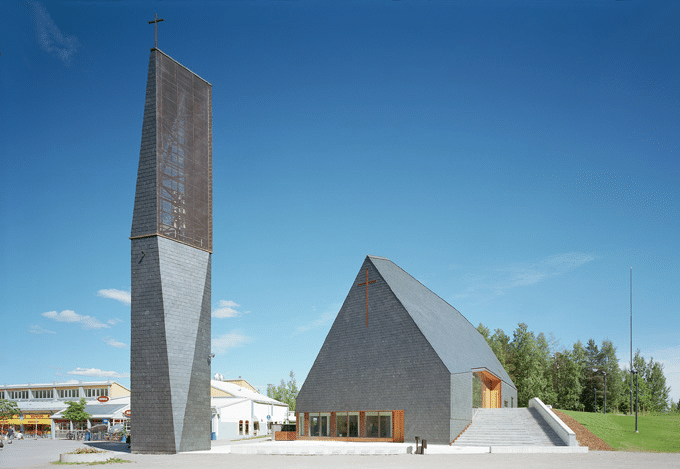 Kuokkala Church [archiseeds] Kuokkala Church by OOPEAA