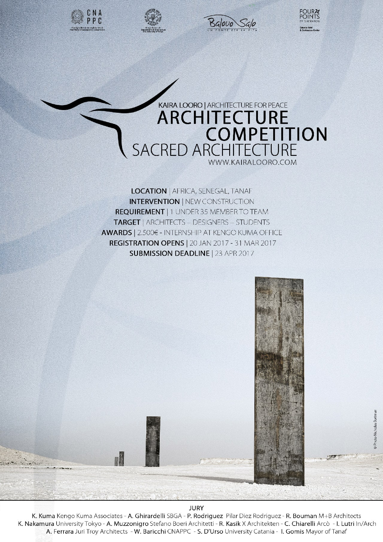 KAIRA LOORO COMPETITION Kaira Looro Competition for Sacred Architecture