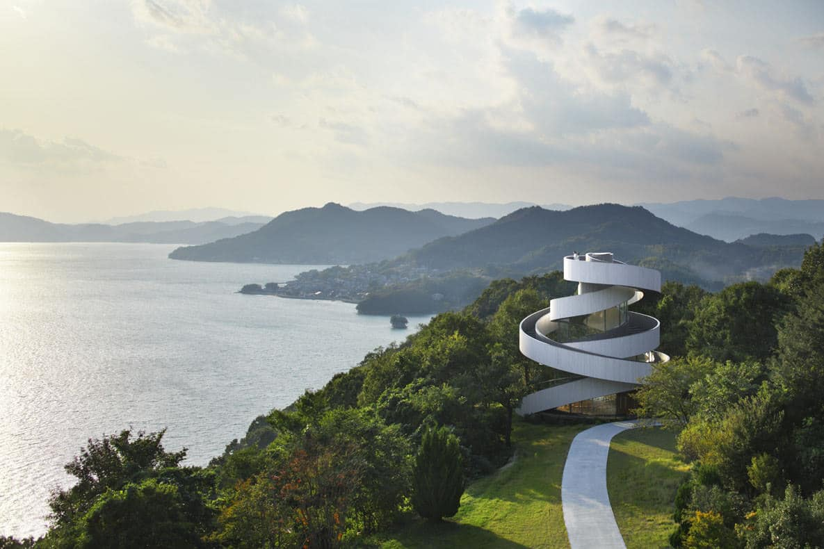 Ribbon Chapel by Hiroshi Nakamura and NAP Architects, Photo by Koji Fujii and Nacasa & Partners Inc