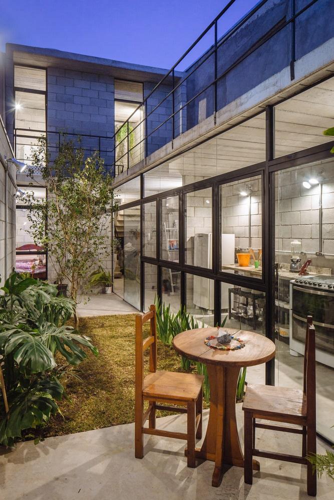 Vila Matilde House by Terra e Tuma Arquitetos Associados, Photo by Pedro Kok cc