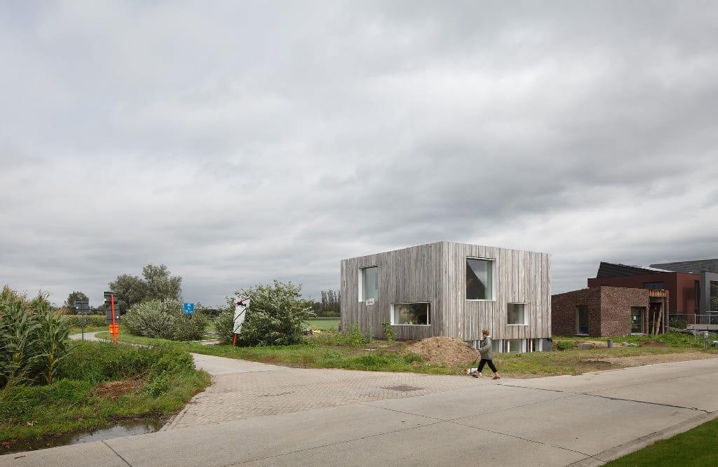 zero energy house blaf architecten