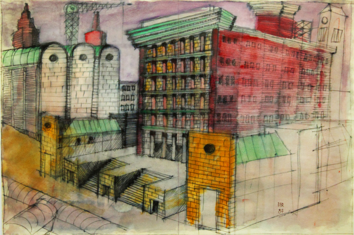 Aldo rossi theoretical architecture archiobjects for Soggiorni moderni rossi