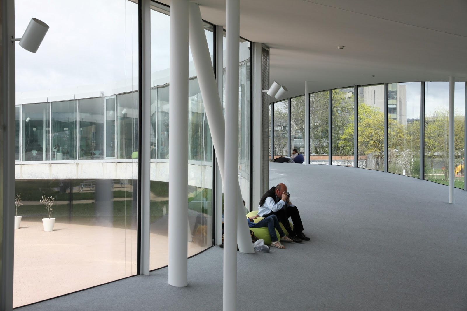 rolex learning center designed by sanaa in lausanne