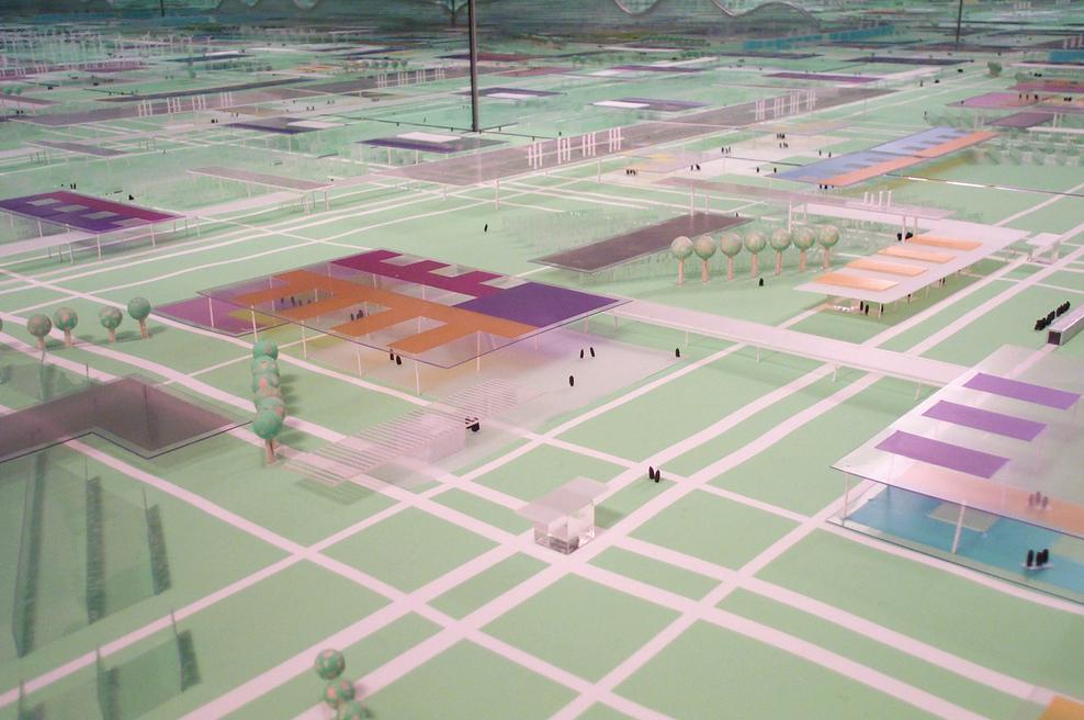 """Masterplan Strijp Philips a Eindhoven """"Modello di urbanizzazione debole"""""""