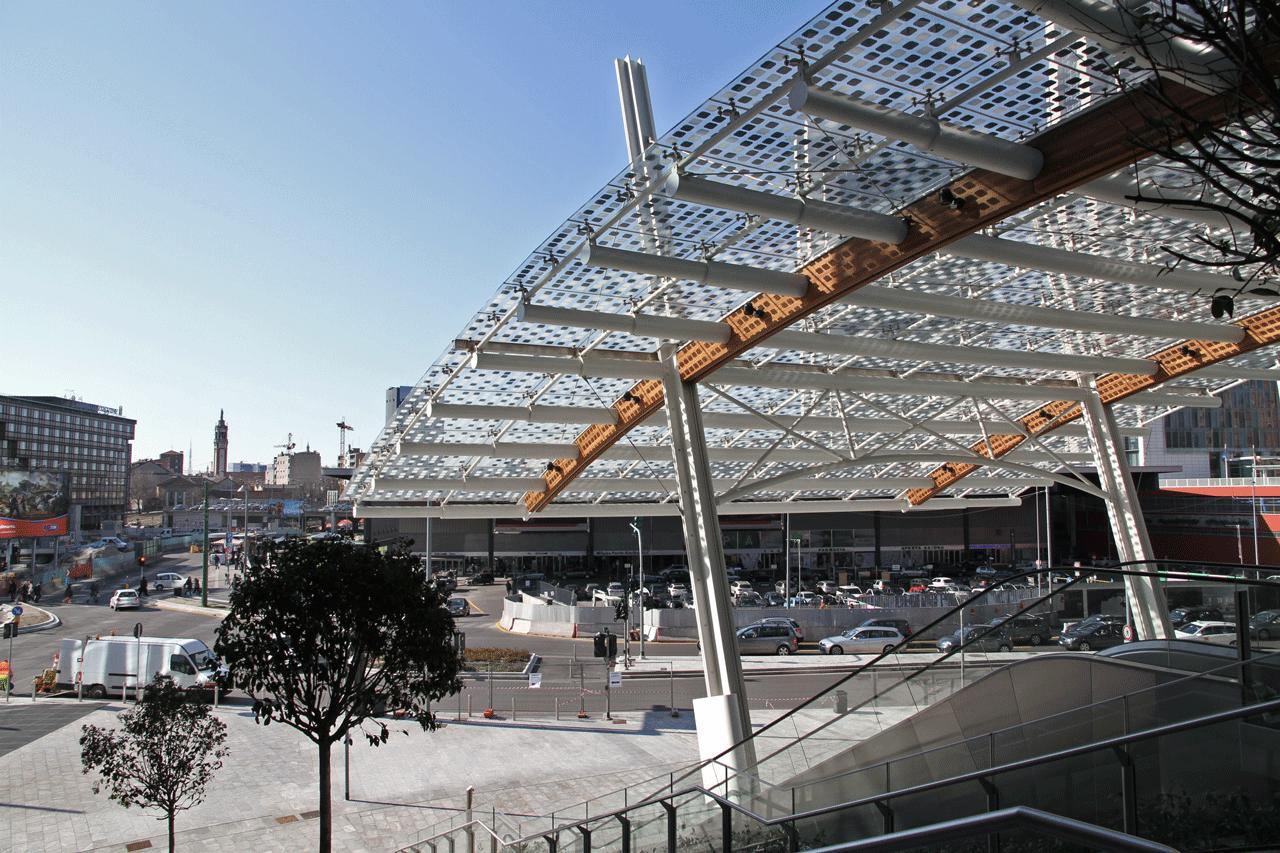 Piazza Gae Aulenti - Pelli Clarke Pelli Architects